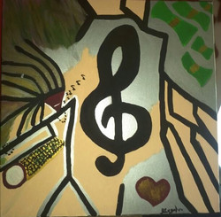 Music in my ears {Sold}