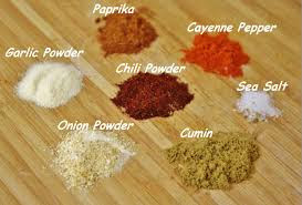 DIY Seasonings
