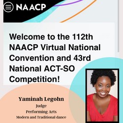 NAACP ACT-SO Judge
