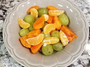 Quick Fall Fruit Salad