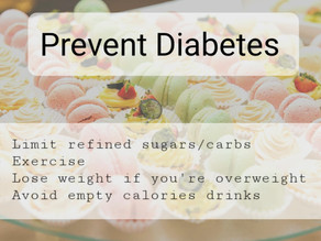 Avoid Diabetes
