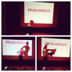 #BeBold4Girls