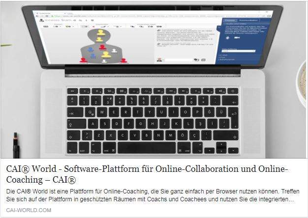 NEWS - Neues Online-Coaching-Tool