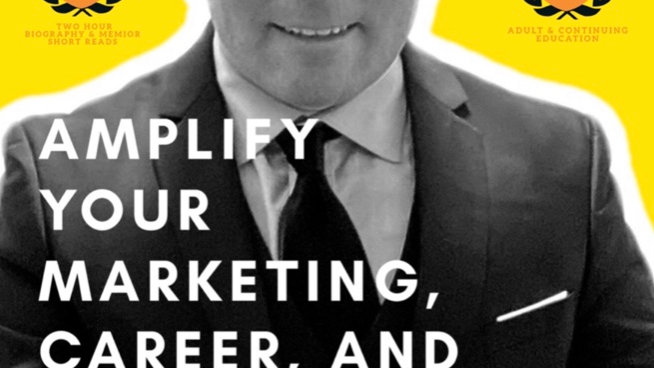 """Google Play - """"Amplify Your Marketing, Career, and Company"""" E-Book"""