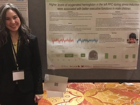Katie Presents fNIRS Data at ISDP