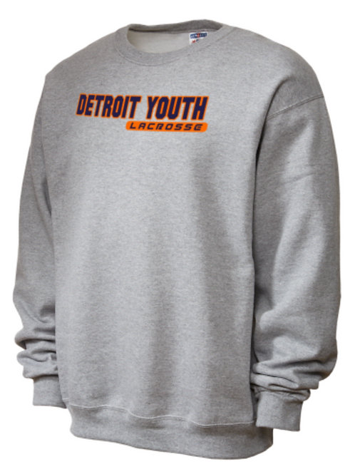 Detroit Youth Lacrosse Crewneck