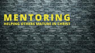 Raising Up Mentors