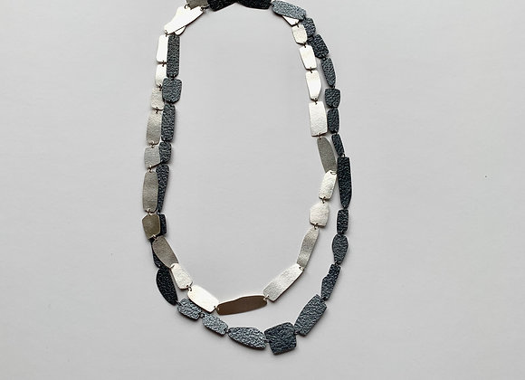 Silver Shards, 1/2 oxidized