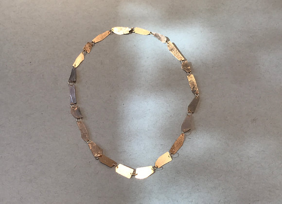 Shard necklace in Fairmined 18 kt rose gold