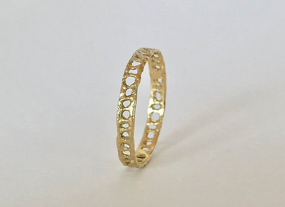 Ancient ring in silver or  18 kt Fairmined gold