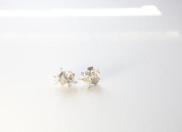 Large shard earrings
