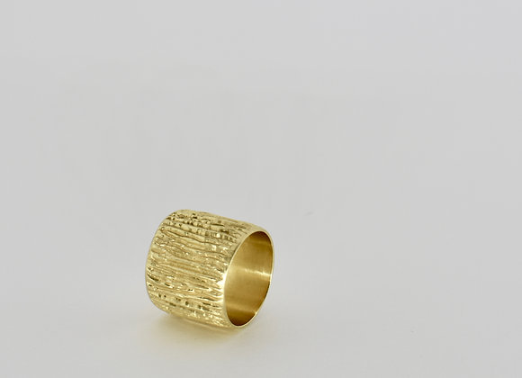 Sand, wide ring band