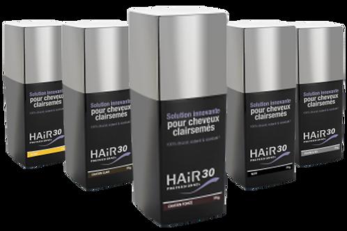 Hair 30 professionnel poudre de cheveux