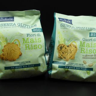 BIO - senza glutine - Biscotti di mais e