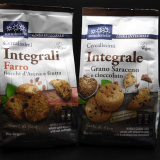 BIO - inegrali Biscotti integrali al far