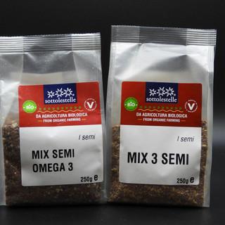 BIO - Vegan - Mix di 3 semi e 3 semi con