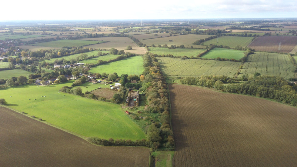 Kings Lynn to Dereham Railway Remains