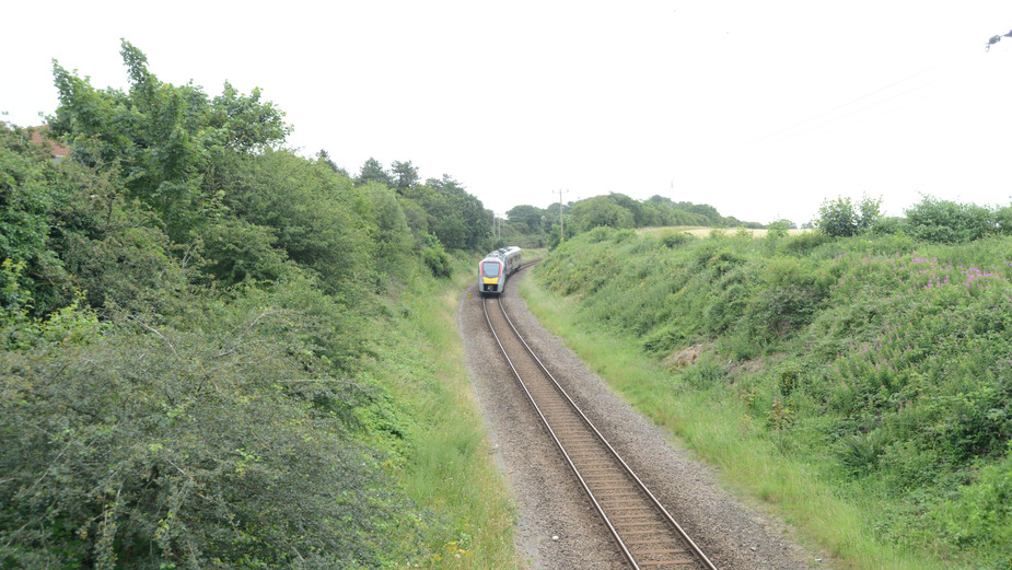 Sheringham to Norwich   Norwich Bound Train at Cromer