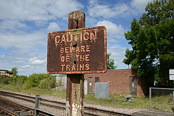 march railway sign