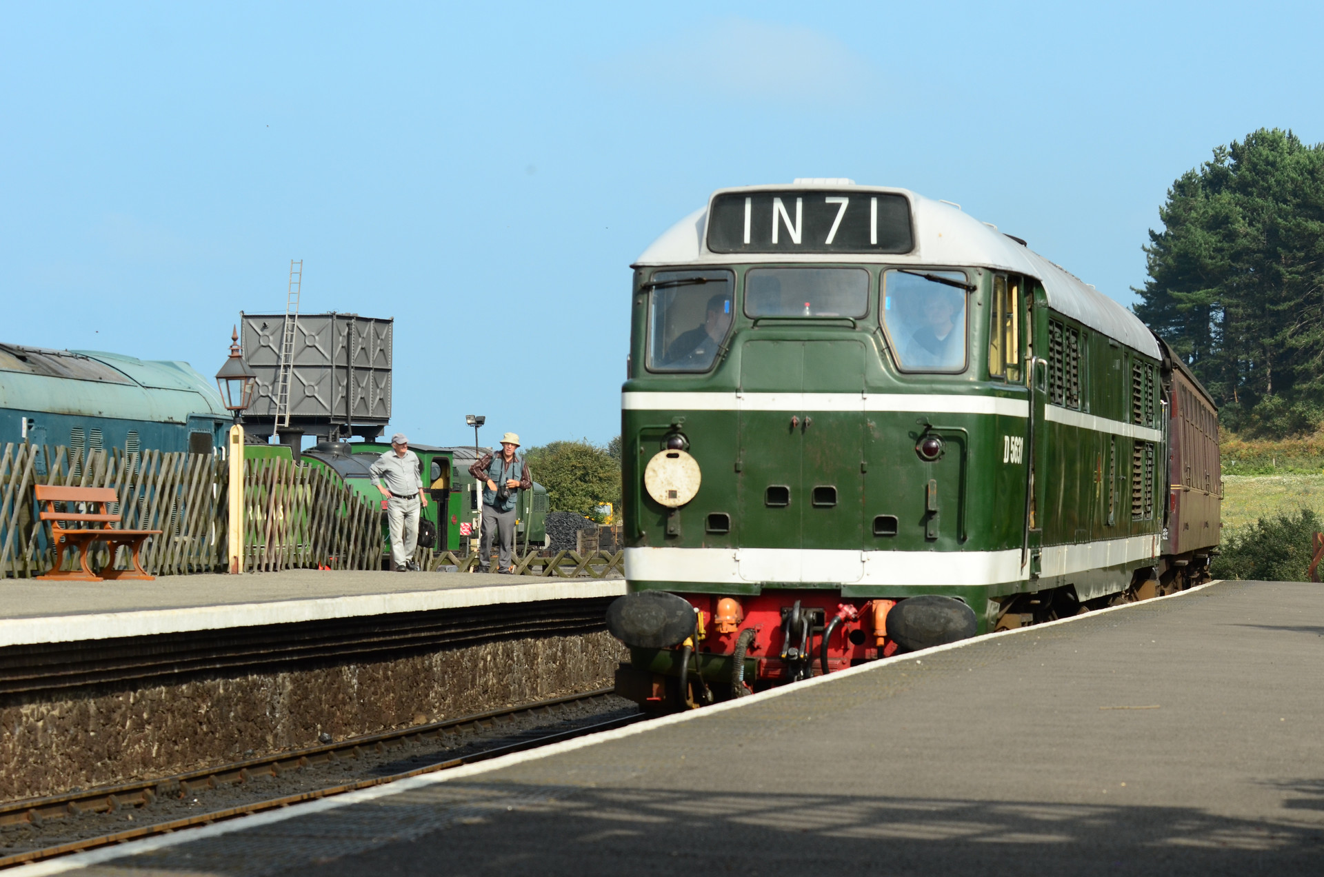 NORTH NORFOLK RAILWAY WEYBOURNE
