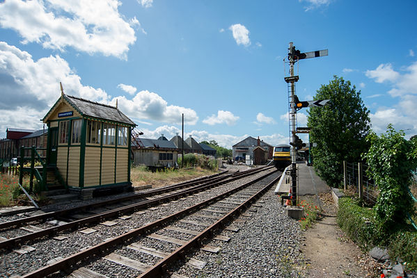 DEREHAM STATION HOUSING OLD GREATER ANGLIA STOCK