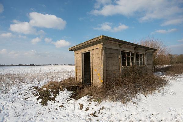 Railway plate layers hut