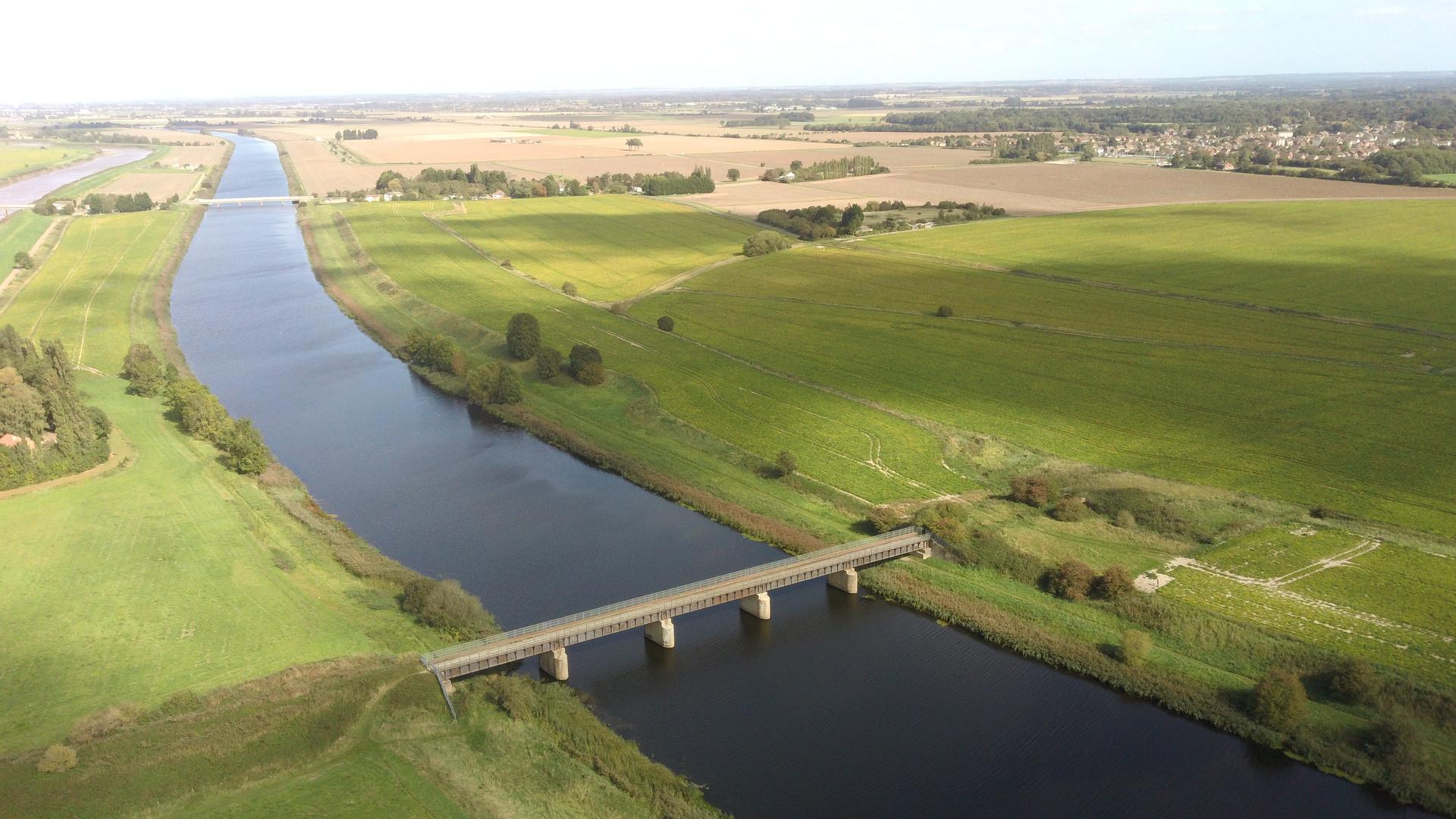Watlington to wisbech railway bridge remain
