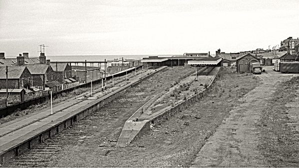 Kings lynn Hunstanton Railway Remains