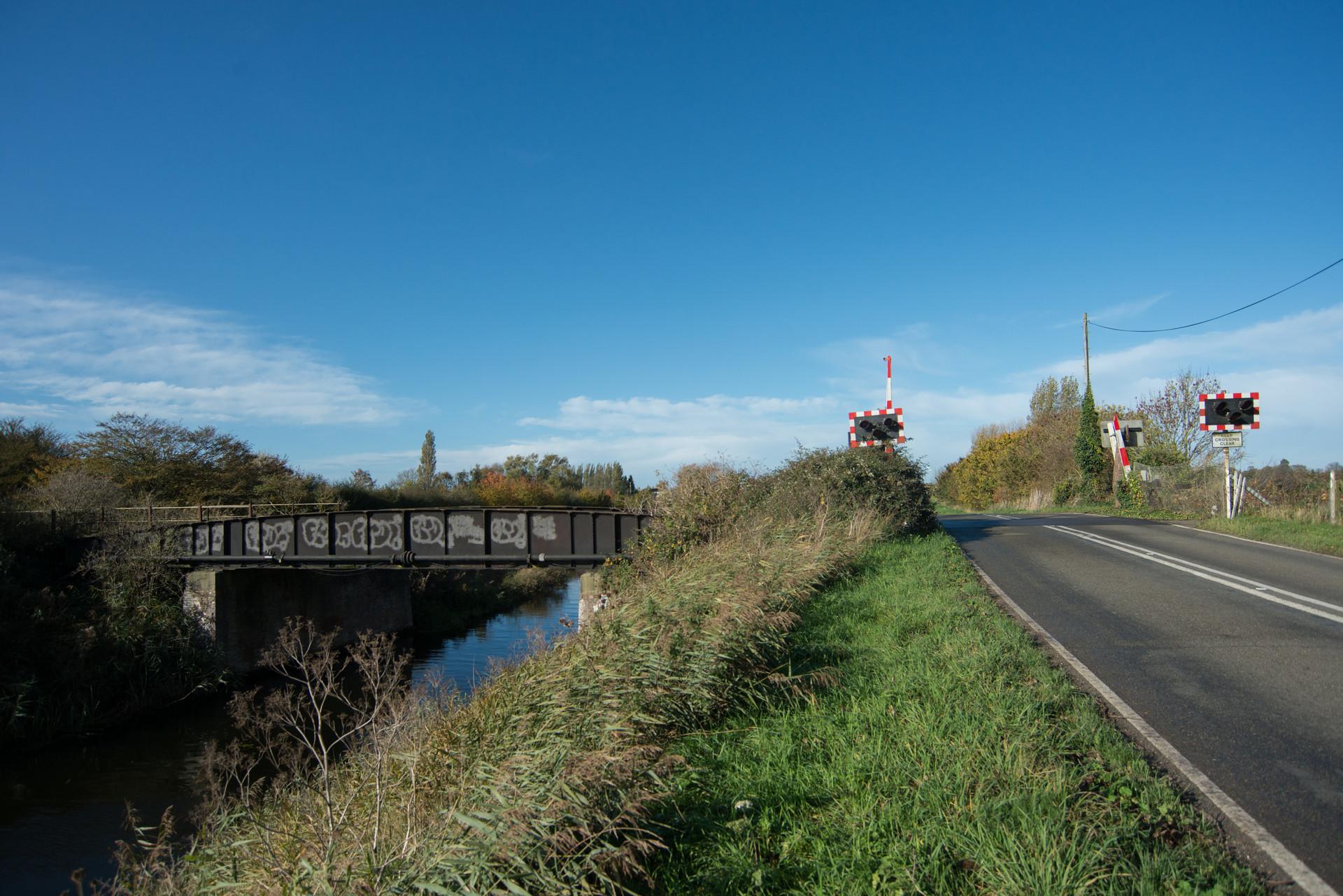 Twenty foot river drain bridge