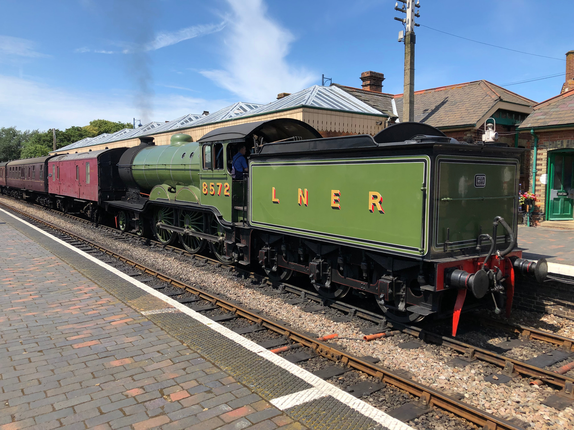 NORTH NORFOLK RAILWAY 8572