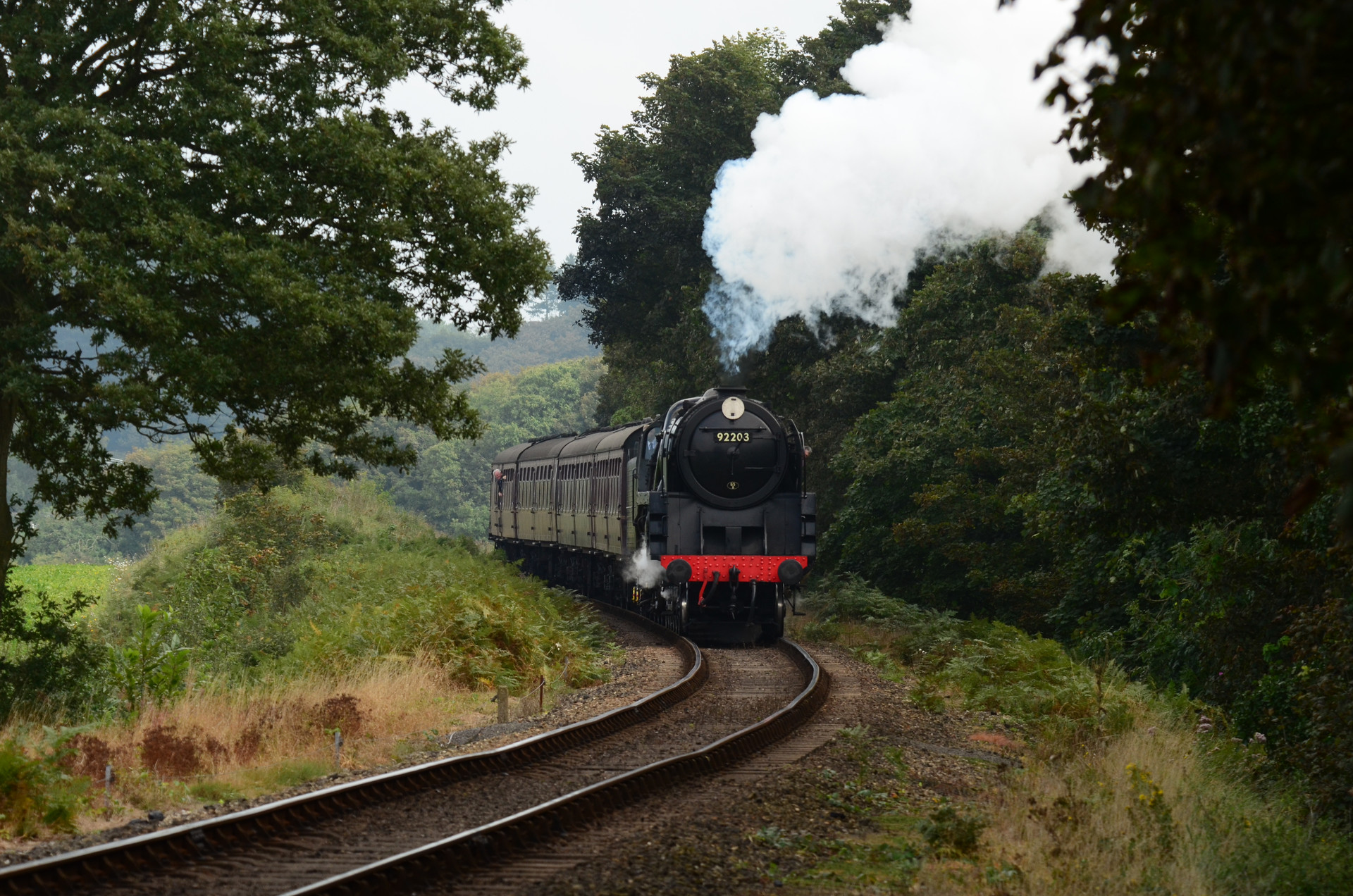 BLACK PRINCE APPROACHES KELLING HEATH