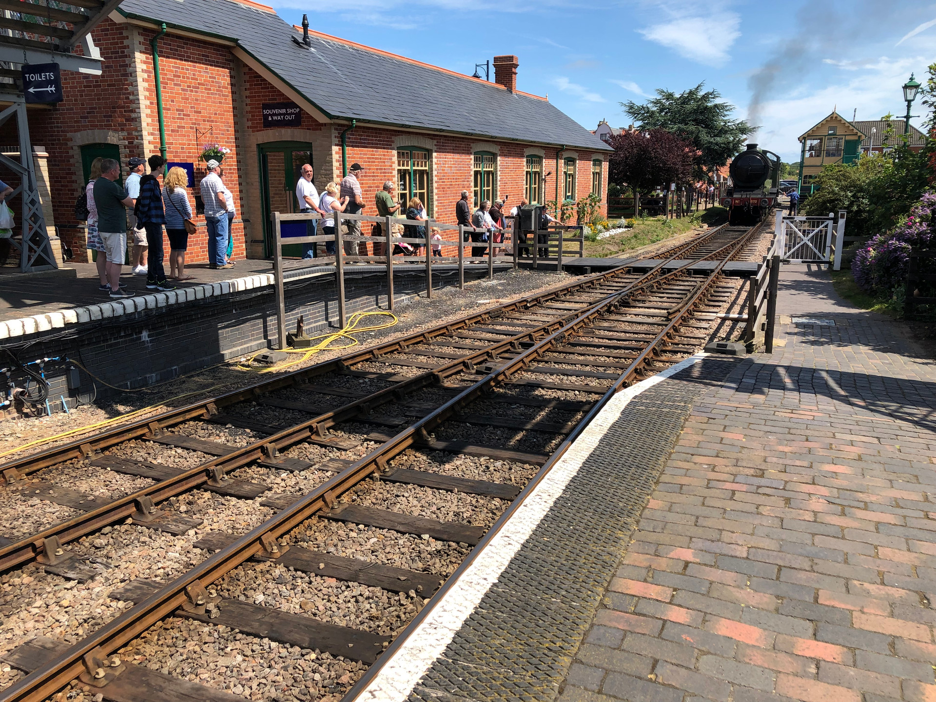 NORTH NORFOLK RAILWAY SHERINGHAM