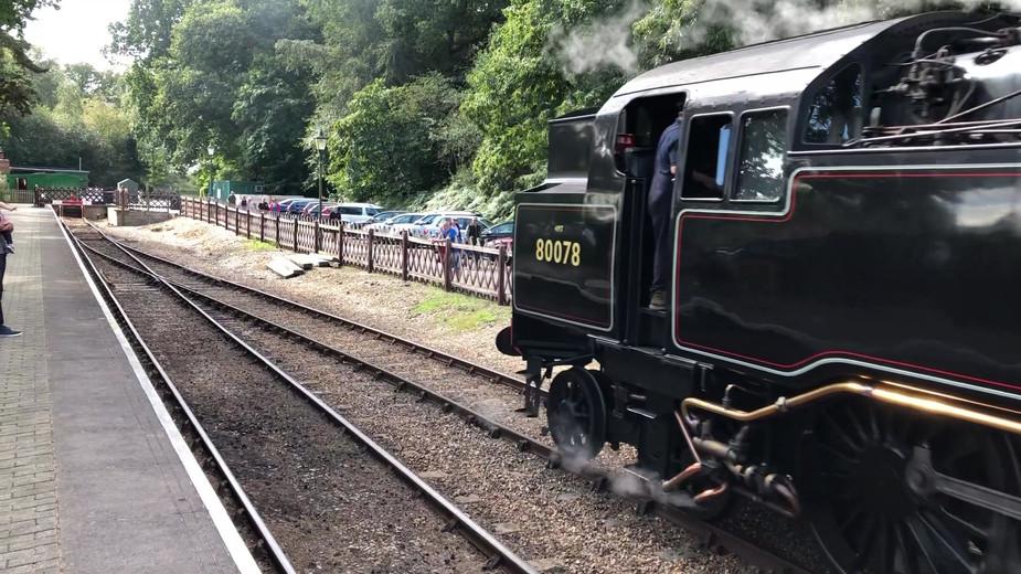 North Norfolk railway Holt