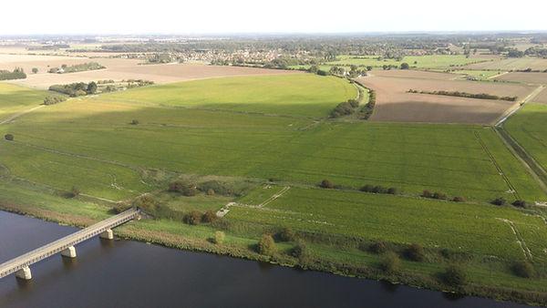 Bramley line aerial shot