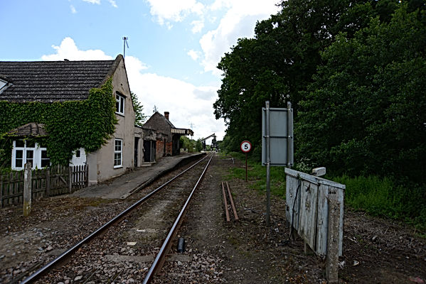 Middleton towers railway station