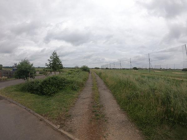 Searles Hunstanton Railway bed