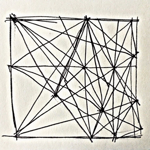 Anouk Emanuel Limited Edition Print - Cat's Cradle