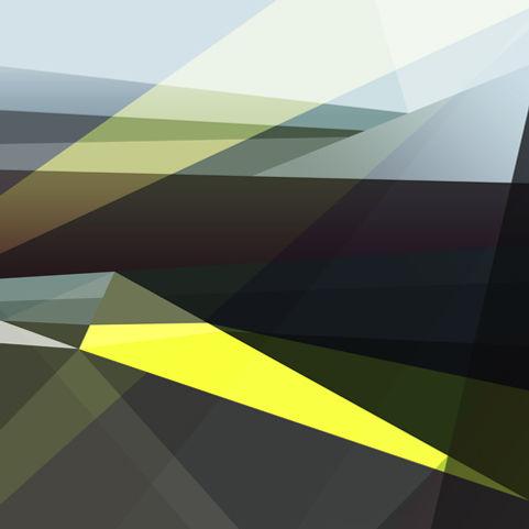 Anouk Emanuel Limited Edition Print - Mustard Fields