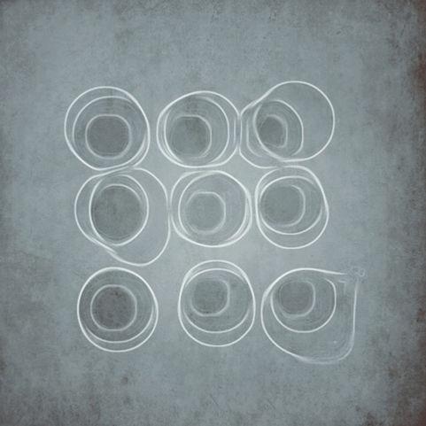 Anouk Emanuel Limited Edition Print - Chalk Circles