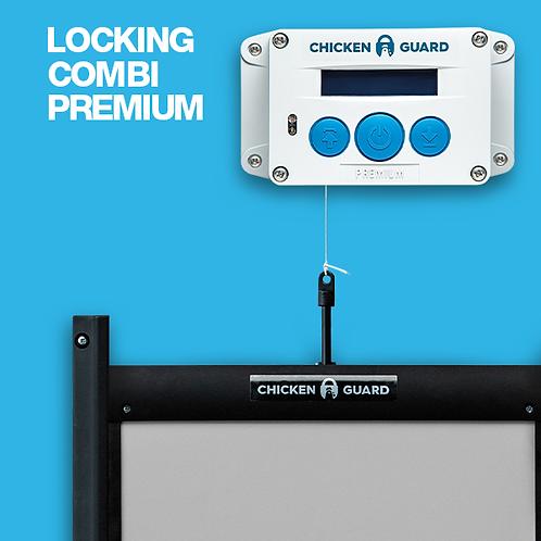 Chicken Guard - Premium Door Closer with Locking Door