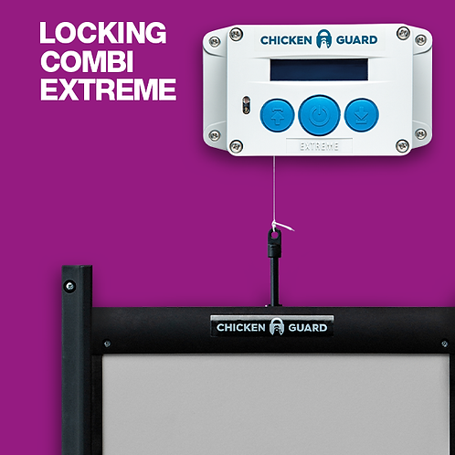 Chicken Guard - Extreme Door Closer with Locking Door