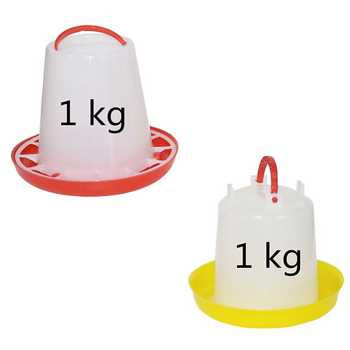 1Kg Chicken Drinker and Feeder