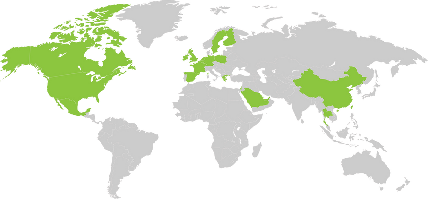 SharingOS's business in World Map.png
