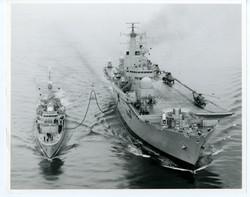 83-6-9-RAS with HMS Naiad