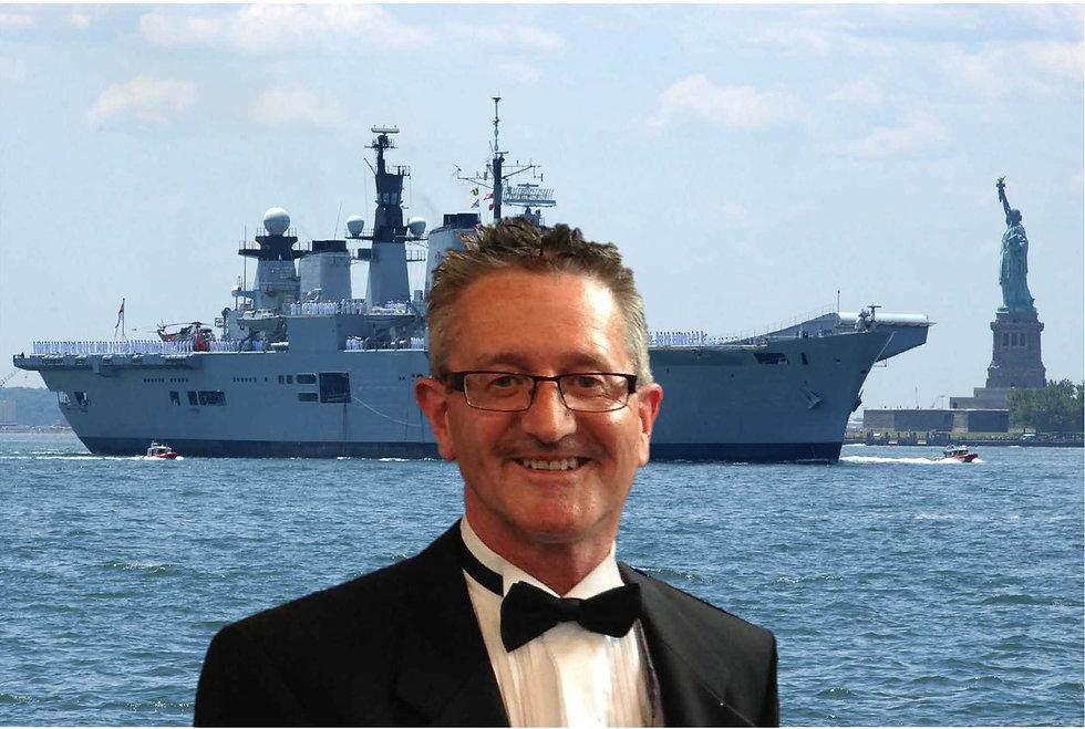 Picture Of David Rogers - Chairman HMS Illustrious Association