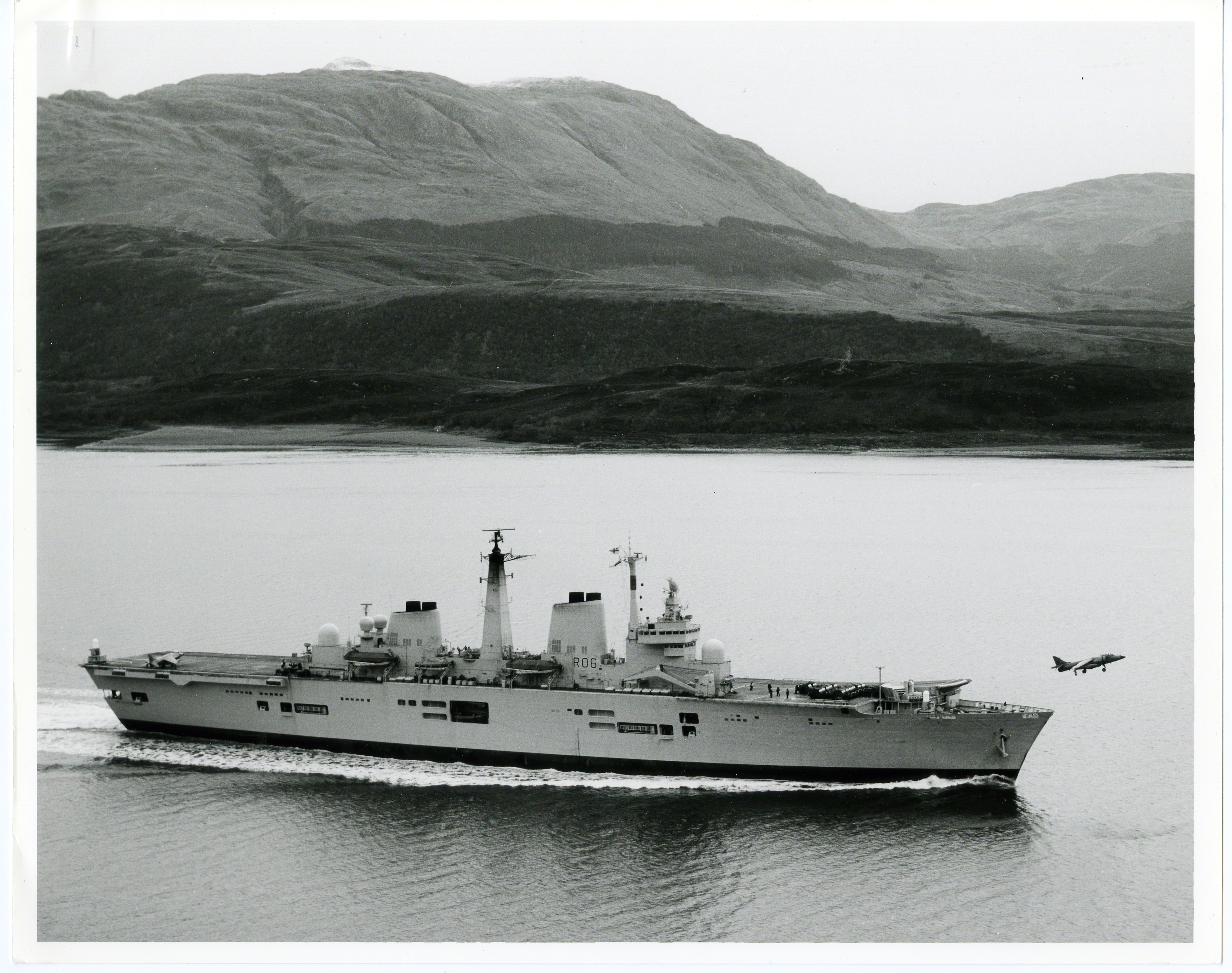 84-12-10-Loch Linnie Sea Harrier