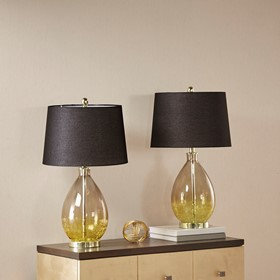 Cortina Glass Table Lamp Set of 2 By 510 Design