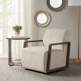 Reed Swivel Chair by Madison Park