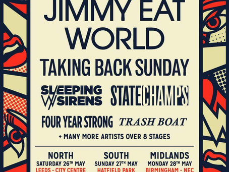SLAM DUNK ANNOUNCE FIRST WAVE OF BANDS.