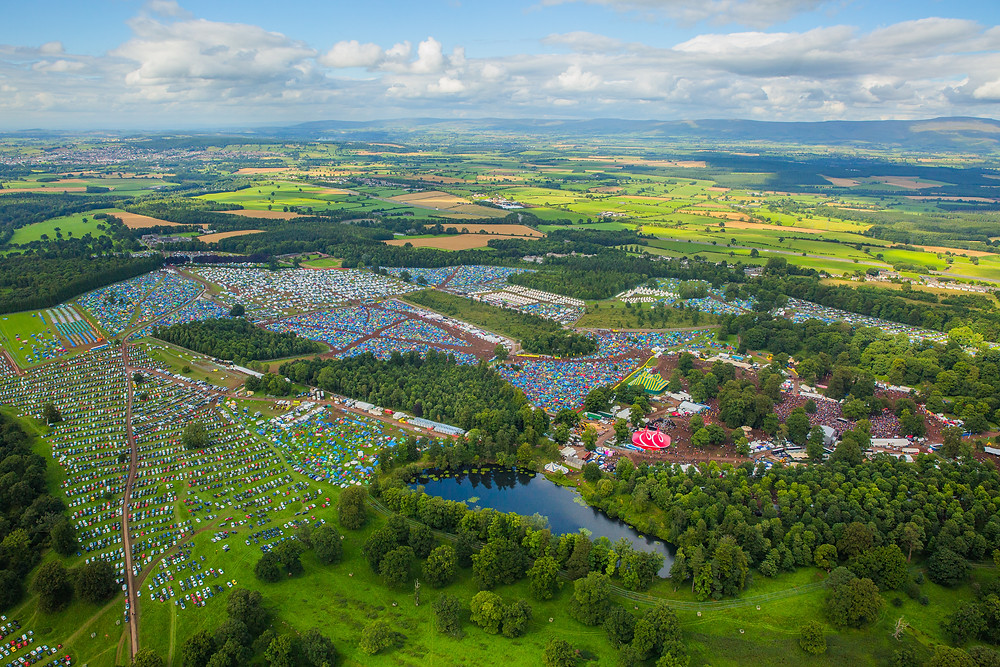 Kendal Calling from above